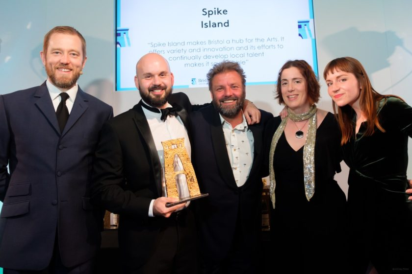 Spike Island wins arts award at Bristol Life Awards_photo by Jon Craig