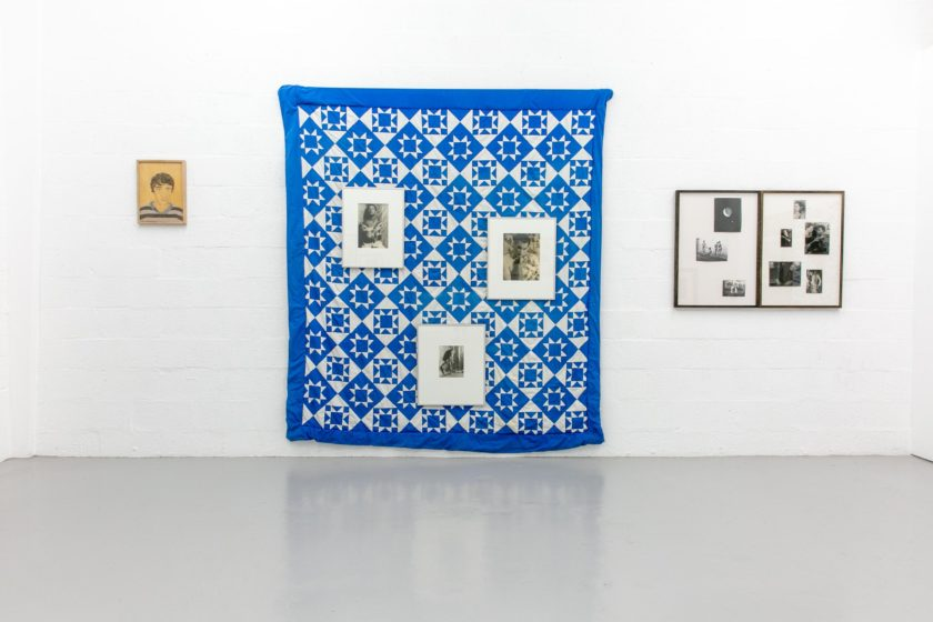 Andrew Mania, Snapshot of a Collection (2018) Installation view, Spike Island. Photograph by Stuart Whipps