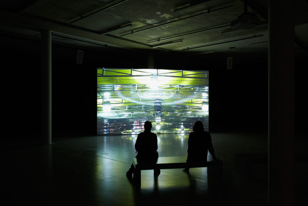 Anna Franceschini THE PLAYER MAY NOT CHANGE HIS POSITION (2009) Installation view, Spike Island, Bristol. Photograph by Stuart Whipps