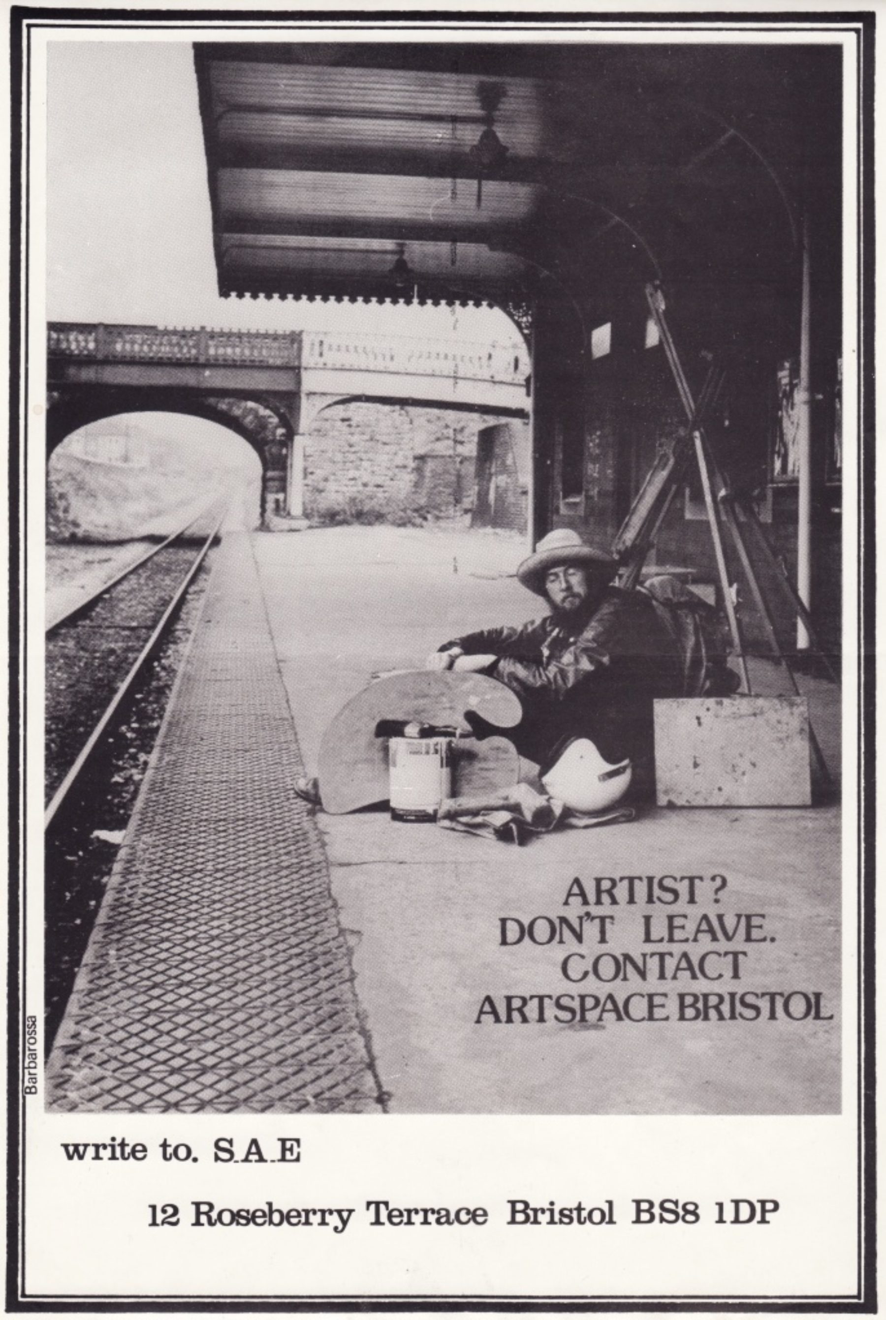 Artspace: Don't Leave poster (1975)
