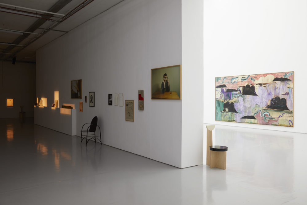 Benoît Maire Thebes (2018) Installation view, Spike Island, Bristol. Works courtesy the artist. Photograph by Stuart Whipps