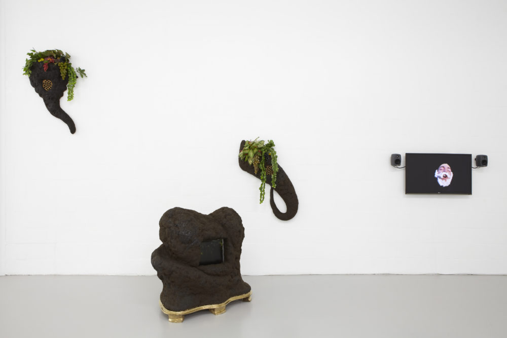 Bloomberg New Contemporaries (2013) Installation view, Spike Island, Bristol. Photograph by Stuart Whipps