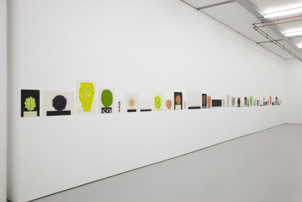 David Batchelor Flatlands (2013) Installation view, Spike Island, Bristol. Photograph by Stuart Whipps
