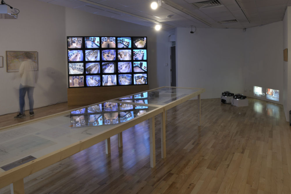 Francis Alÿs, Seven Walks (2013) Installation view, Art Exchange. Photograph by Douglas Atfield