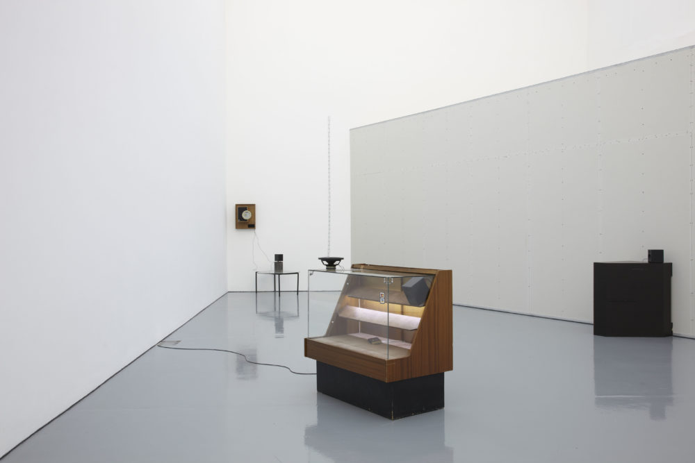 Haroon Mirza (2011) installation view, Spike Island, Bristol. Photograph by Stuart Whipps