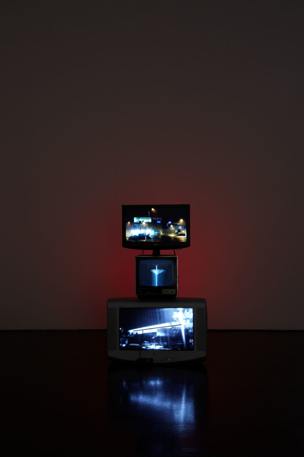 Haroon Mirza, Installation view, Spike Island,Bristol (2011) Photograph by Stuart Whipps