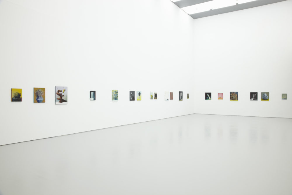 Ivan Seal, In Here Stands It (2012) Installation view, Spike Island, Bristol. Photograph by Stuart Whipps