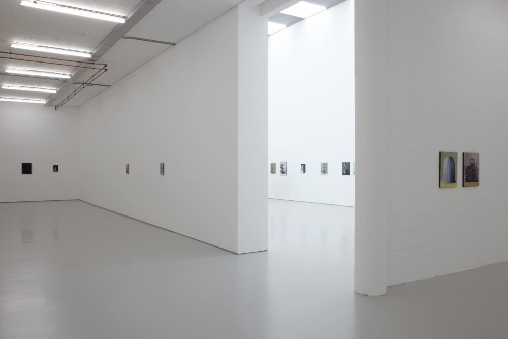 Ivan Seal, In Here Stands It (2015) Installation view, Spike Island, Bristol. Photograph by Stuart Whipps