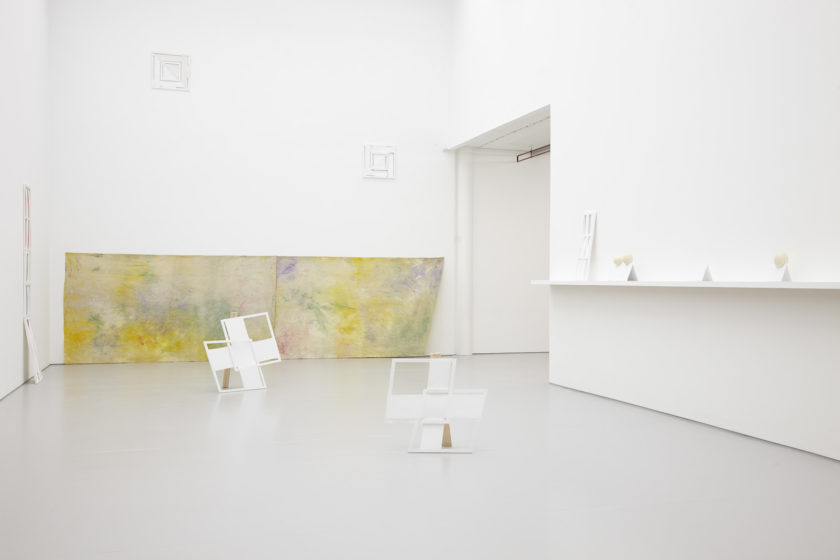 Jessica Warboys, Ab Ovo (2013) installation view. Photograph by Stuart Whipps