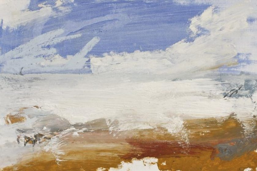 Judy Rodrigues, Mouth of the Douro River. Oil on Paper