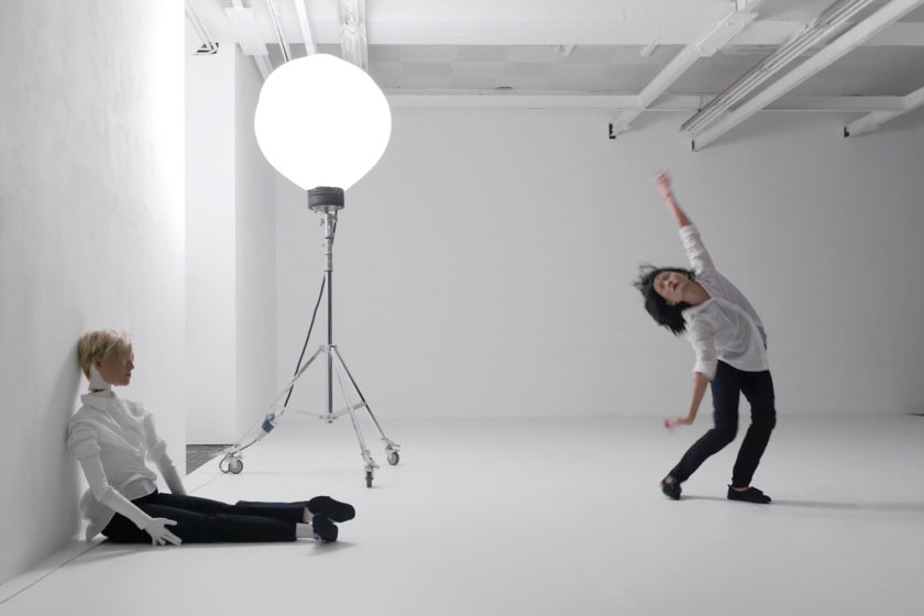 Mai-Thu Perret Figures (2014) Performance at the Biennale of Moving Images, Centre d'Art Contemporain, Geneva, Switzerland. Photograph courtesy Annik Wetter