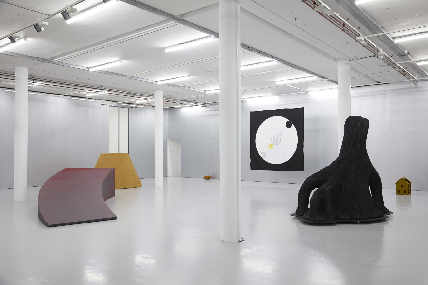 Mai-Thu Perret The Blazing World (2019) Installation view, Spike Island, Bristol. Works courtesy the artist and Simon Lee Gallery. Photograph by Stuart Whipps