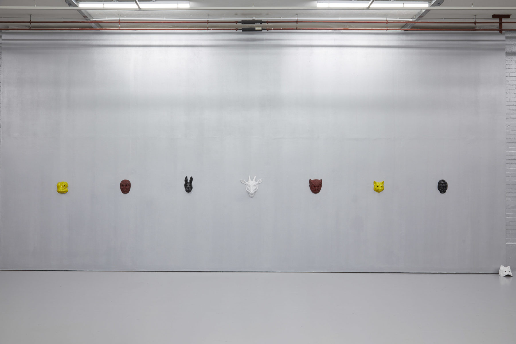 Mai-Thu Perret, With an unbounded force (2019) Installation view, The Blazing World (2019) Spike Island, Bristol. Works courtesy the artist and Simon Lee Gallery. Photograph by Stuart Whipps
