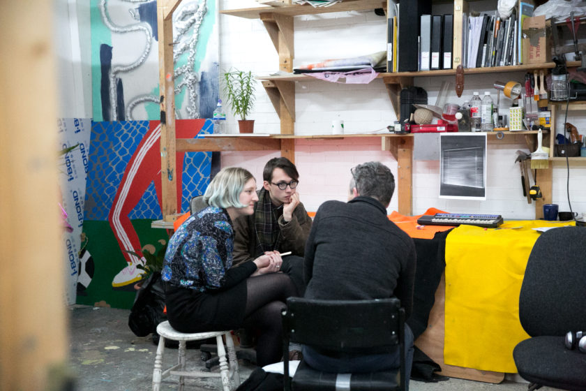Network for Creative Enterprise, Spike Island (2017) Photograph by Lisa Whiting