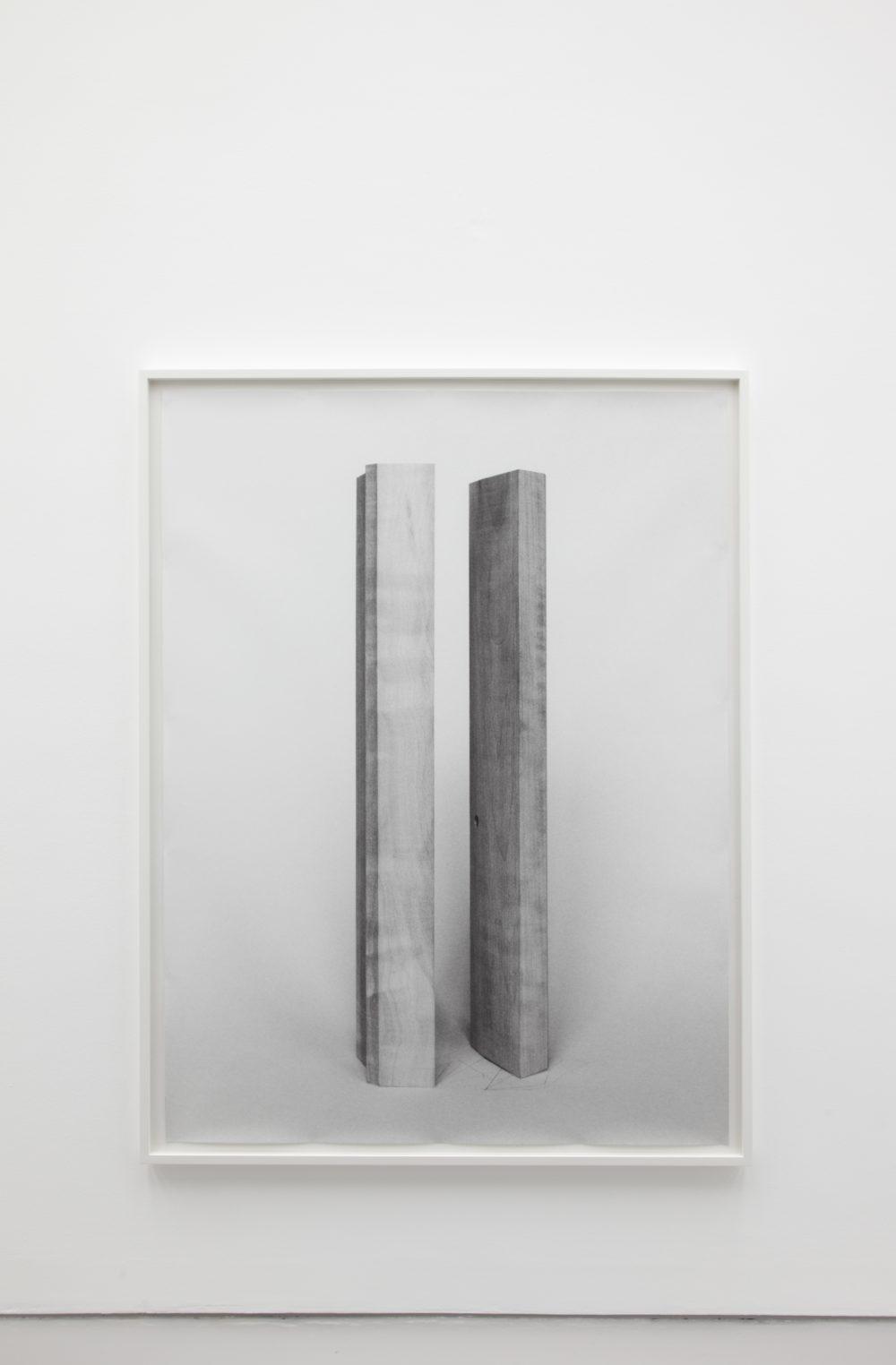 Becky Beasley, Spring Rain (2013) installation view, Spike Island, Bristol
