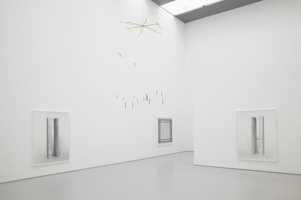 Becky Beasley, Spring Rain (2013)installation view, Spike Island, Bristol
