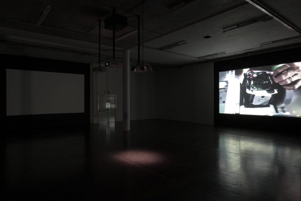Charlie Tweed Notes Part I, II, & II installation view., Spike Island. Photograph by Stuart Bunce