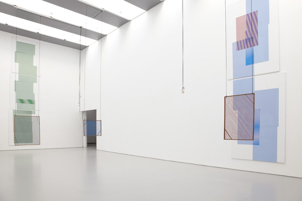 Melissa Gordon, Material Evidence (2013) Installation view, Spike Island, Bristol. Photograph by Stuart Whipps