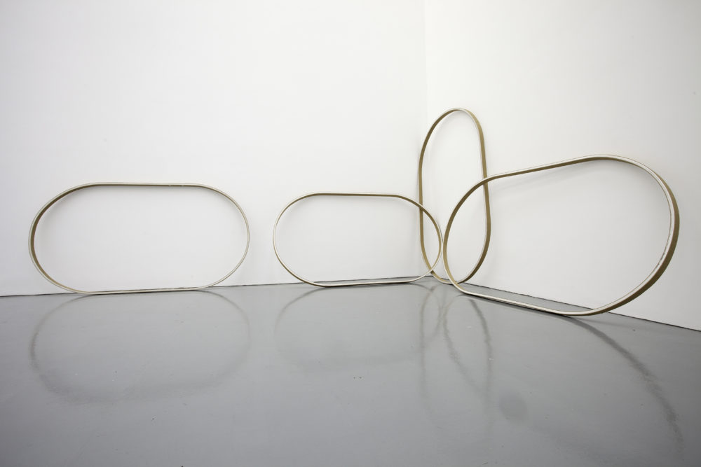 Sean Edwards Maelfa (2010) installation view. Photograph by Jamie Woodley