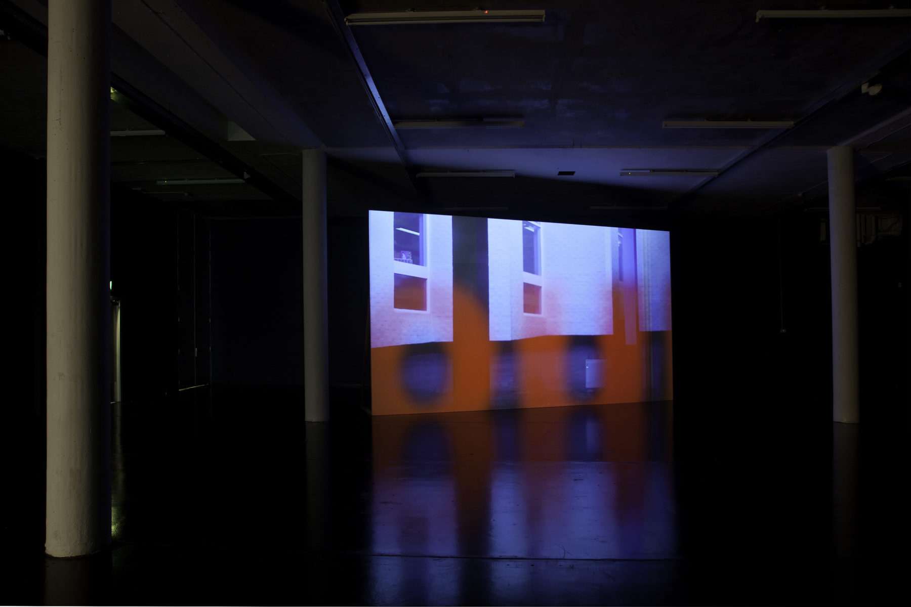 Sean Edwards Maelfa, installation view, Spike Island. Photograph by Jamie Woodley