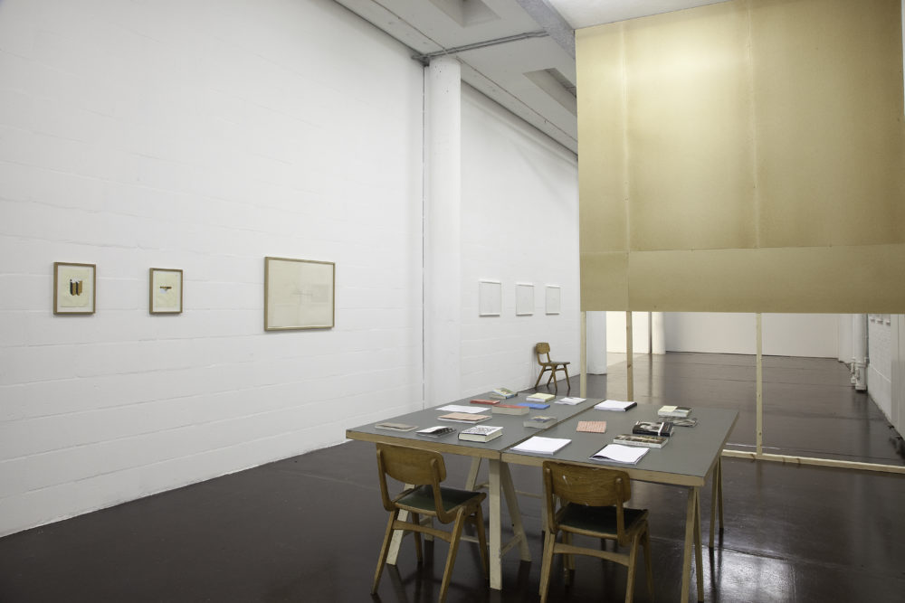 Sean Edwards Maelfa (2010) installation view. Photograph by Jamie Woodley