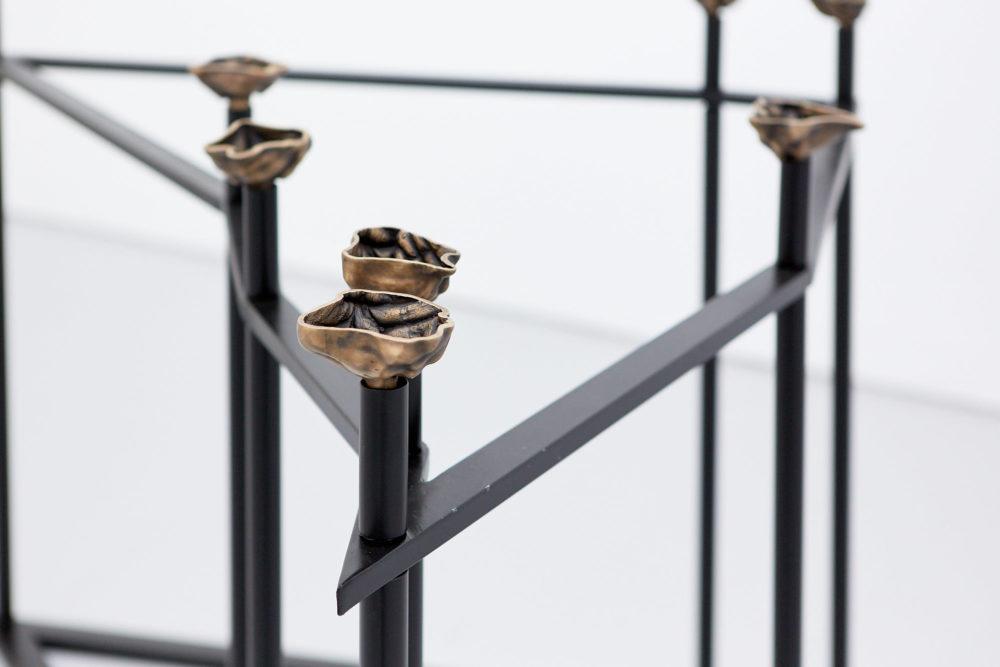 Sriwhana Spong Instrument E (Tina) (2019) Installation view, Ida-Ida (2019) Spike Island, Bristol. Photograph by Max McClure