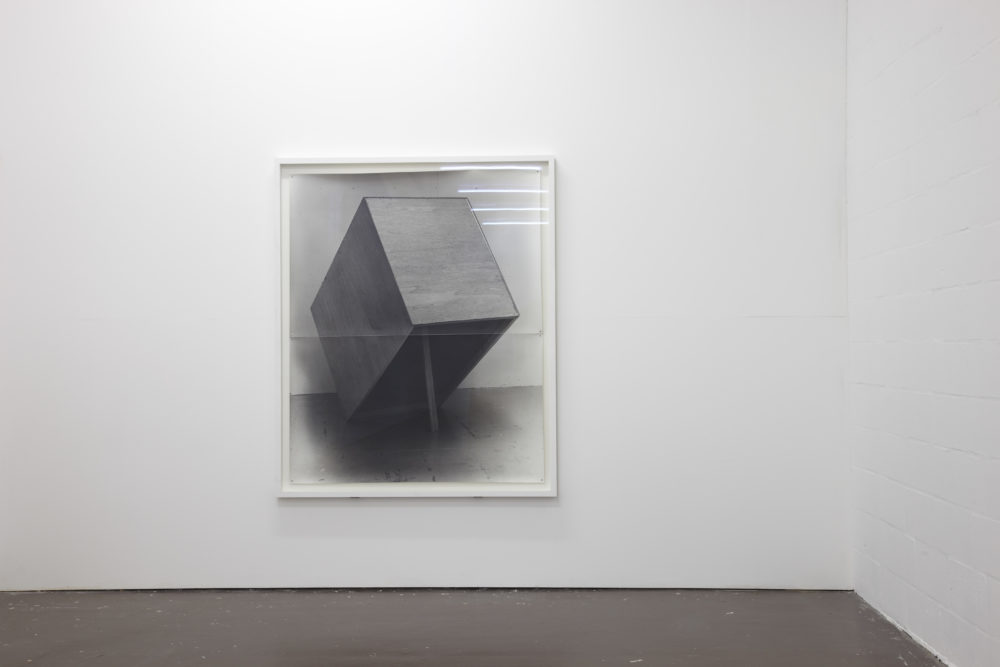 Structure & Material (2011) installation view, Spike Island, Bristol. Photograph by Stuart Whipps