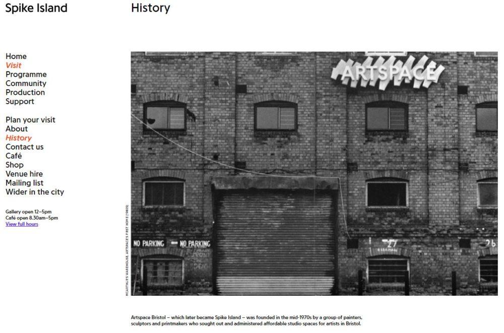 Website development_history