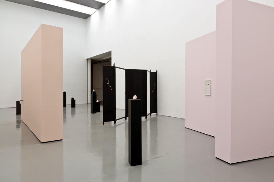 Zoe Williams The Flight of O (2010) installation view, Spike Island. Photograph by Stuart Bunce