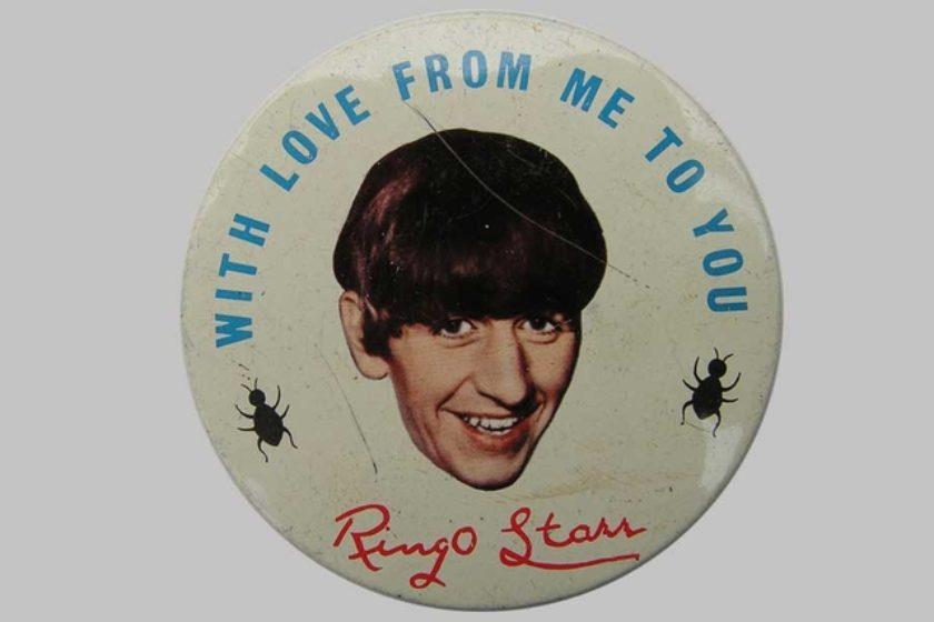 Ringo Starr artwork courtesy Simon Hood