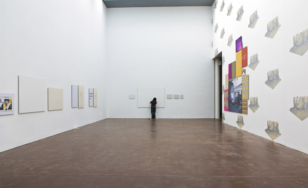 Sonia Boyce Like Love installation view. Photograph by Stuart Bunce