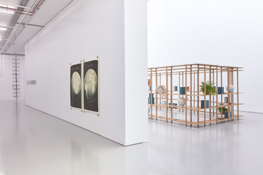 Installation view of Meriç Algün's exhibition