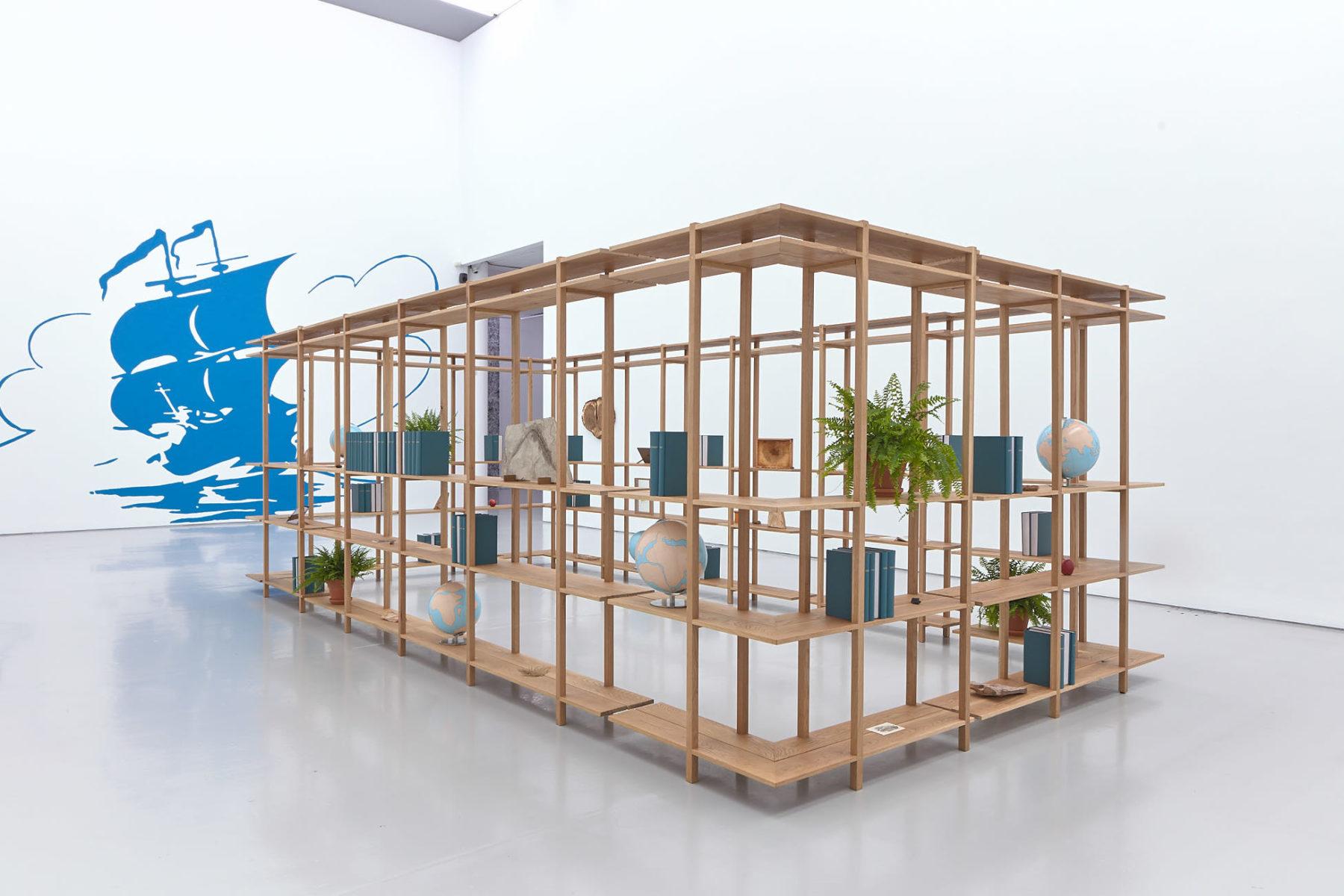 Installation view of Meriç Algün's exhibition