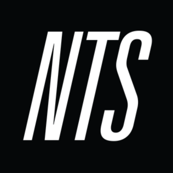 NTS Radio logo (black and white)