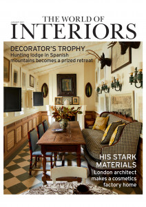 Cover image of The World of Interiors magazine