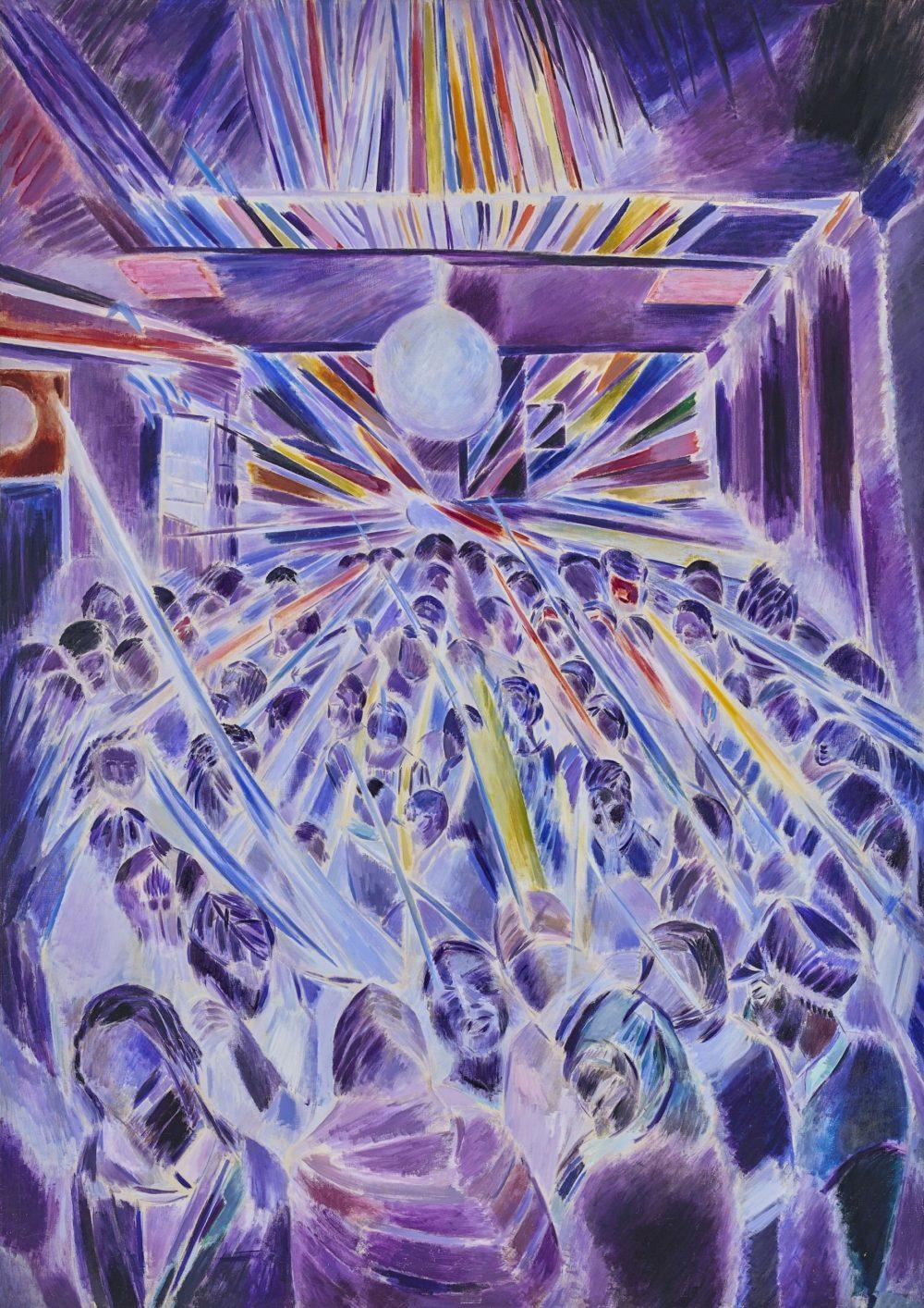 Denzil Forrester, Night Strobe (1985) Courtesy the artist and Stephen Friedman Gallery, London