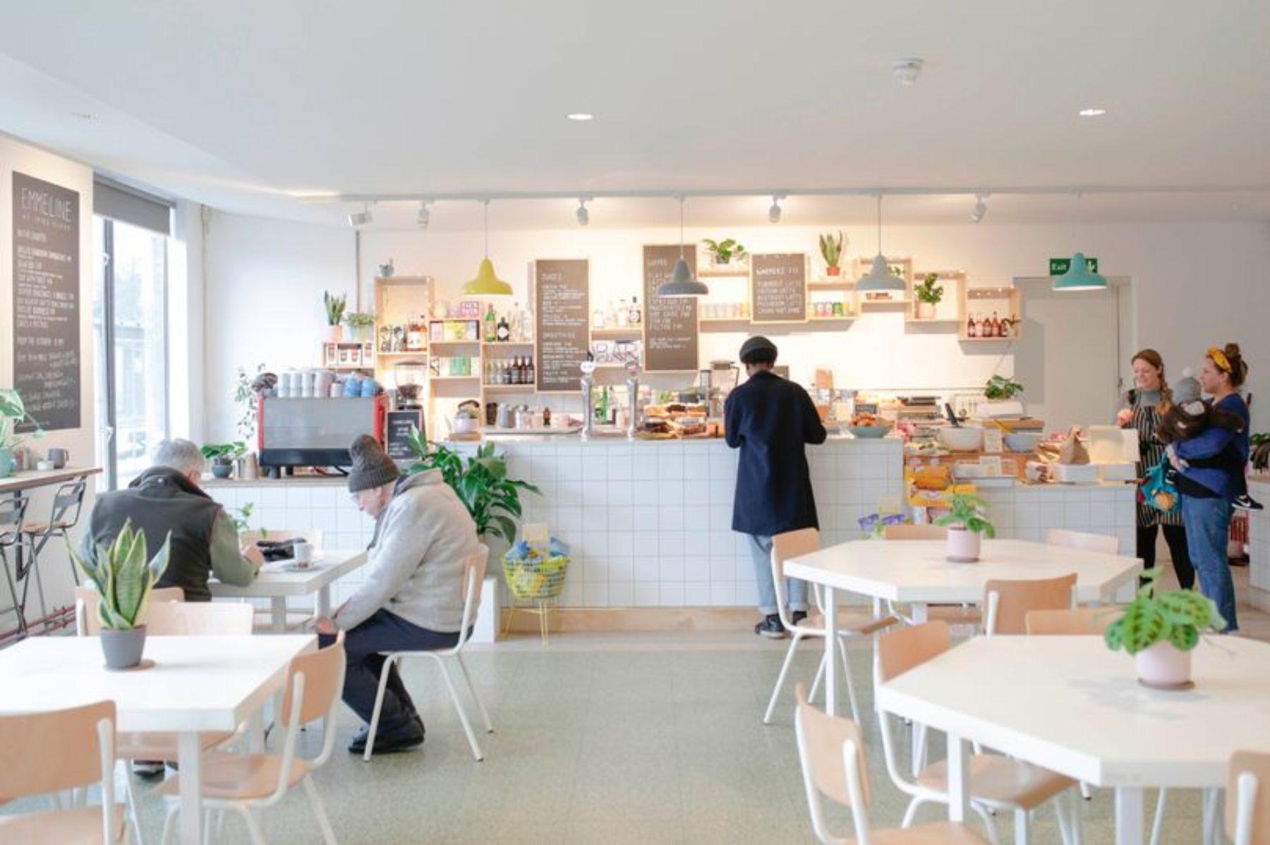 Emmeline Cafe at Spike Island. Photograph by James Beck