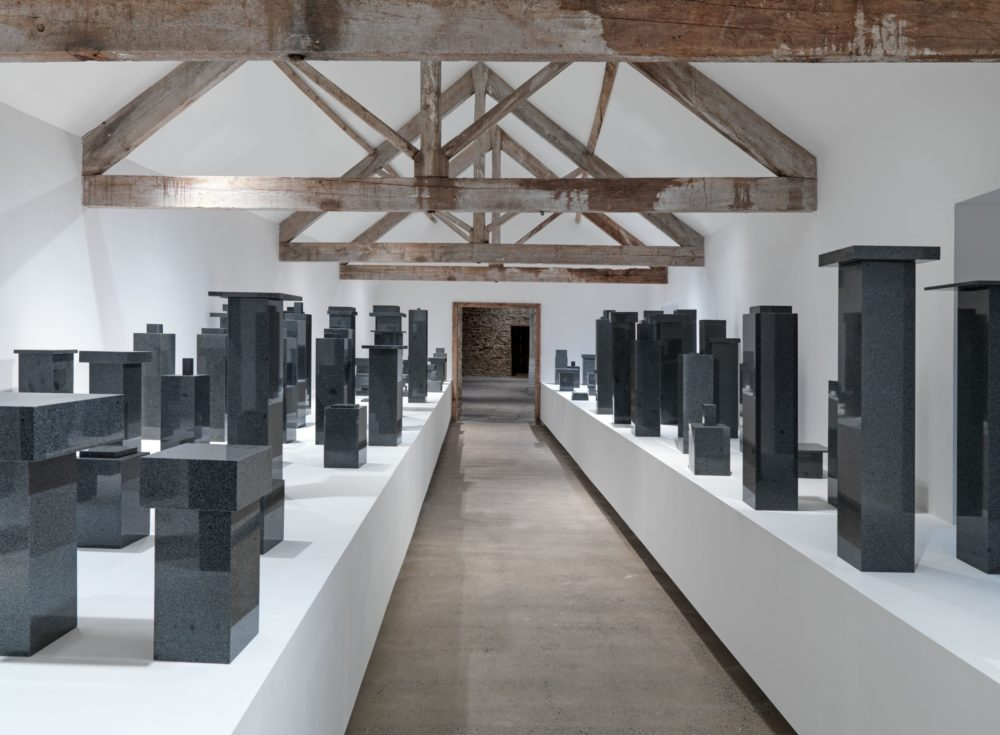 Not Vital, SCARCH at Hauser & Wirth Somerset (2020) Installation view. Photograph by Ken Adlard. Courtesy the artist and Hauser & Wirth.