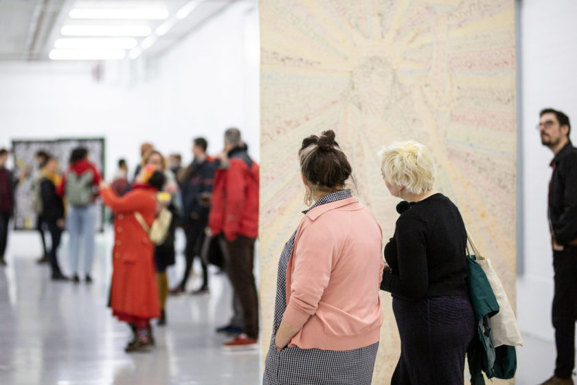 Pacita Abad_Life in the Margins (2020) Installation view, Spike Island, Bristol. Photograph by Lisa Whiting