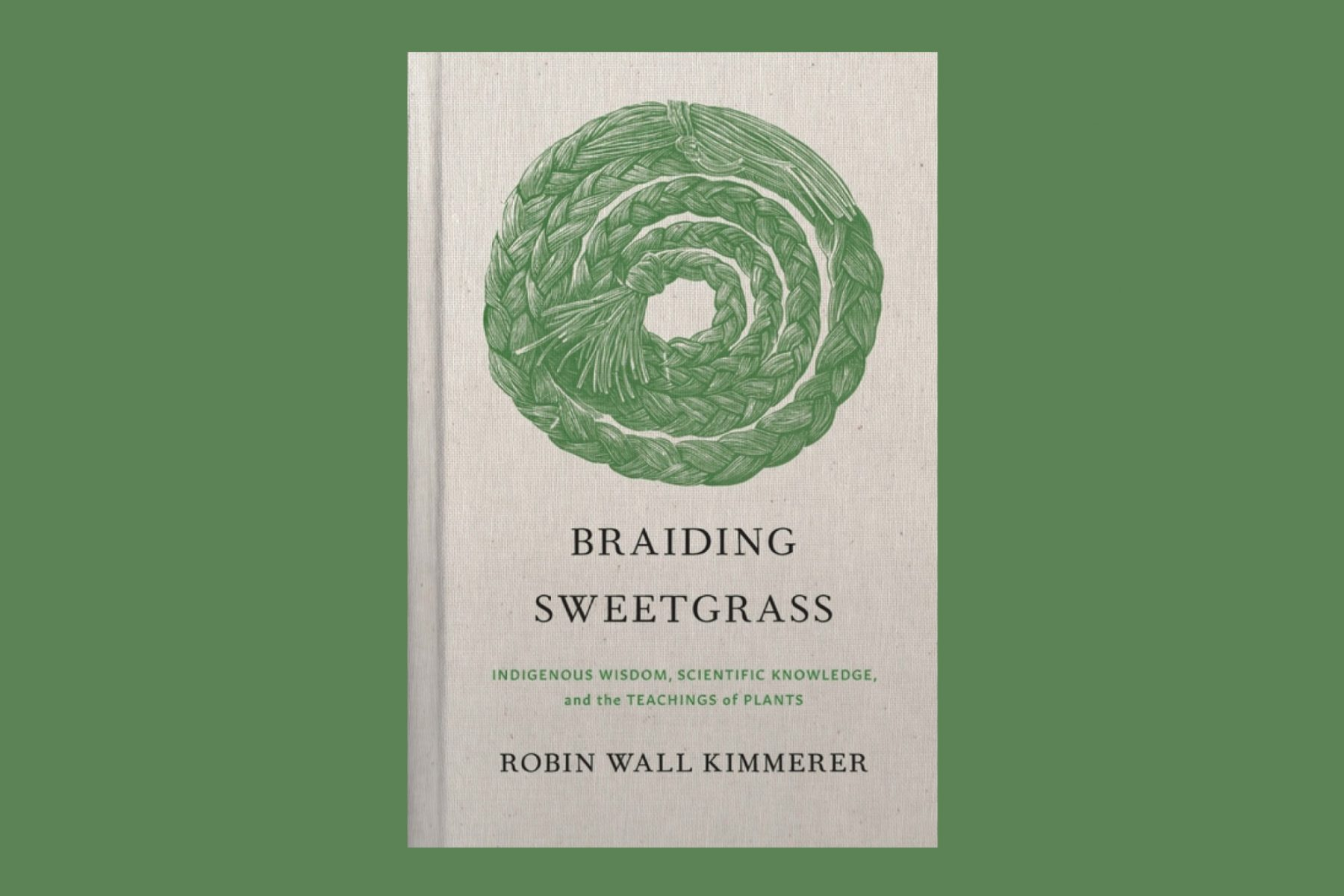 Image of the book Braiding Sweetgrass by Robin Wall Kimmerer