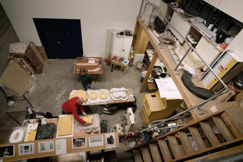 Plenderleith Scantlebury''s studio at Spike Island