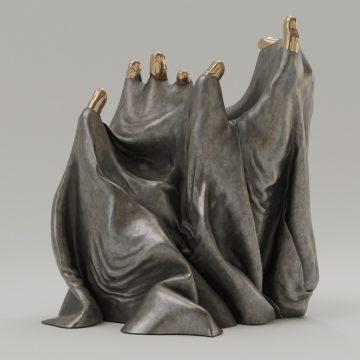 Bo Lanyon, Mantle (2021) Digital render / bronze