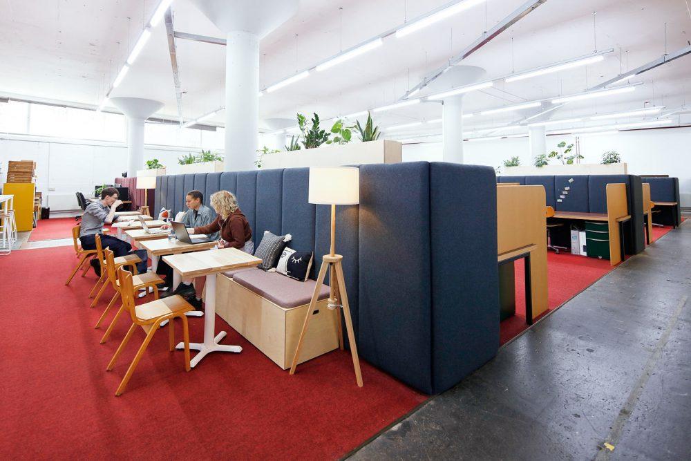 A photograph of Spike Island Workspace