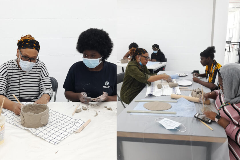 Image of clay workshop